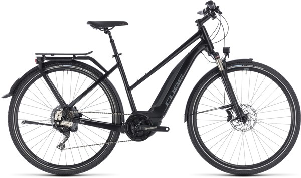 Cube Touring Hybrid EXC 500 Trapeze Womens 2018 - Electric Hybrid Bike