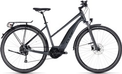 Cube Touring Hybrid One 400 Trapeze Womens 2018 - Electric Hybrid Bike