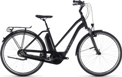 Cube Town Hybrid One 400 Trapeze Womens 2018 - Electric Hybrid Bike
