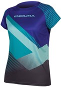 Product image for Endura Womens SingleTrack Print T II AW17