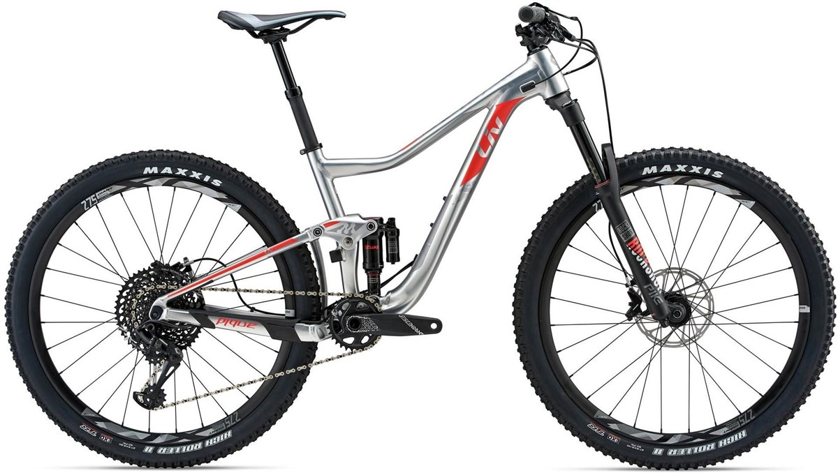 Liv Pique SX 1 27.5in womens mountain bike 2018 trail full suspension mtb