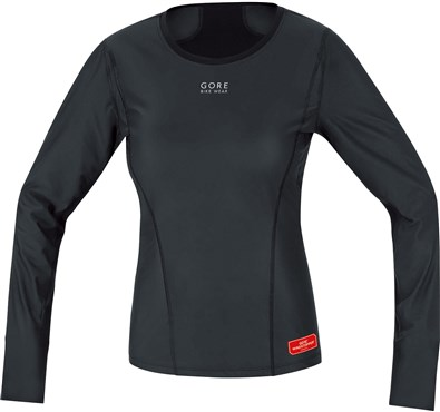 Gore Windstopper Shirt Womens Long Sleeve Base Layer AW17