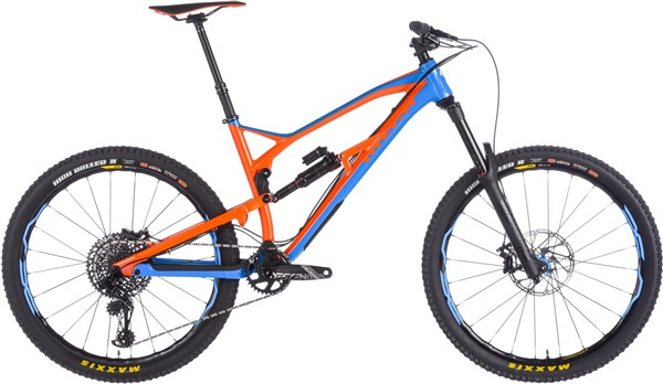 "Nukeproof Mega 275 Pro 27.5"" Mountain Bike 2018 - Enduro Full Suspension MTB"