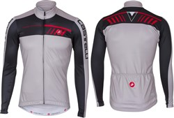 Product image for Castelli Velocissimo 2 FZ Long Sleeve Cycling Jersey AW17