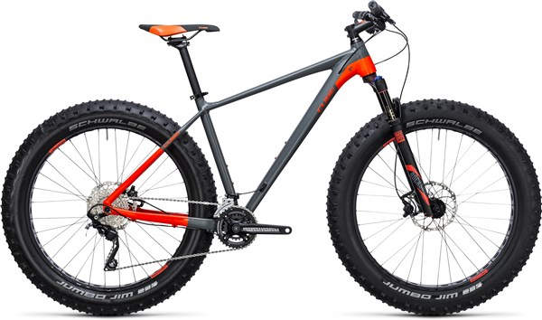 Cube Nutrail Mountain Bike 2018 - Fat bike