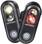 Product image for Kryptonite Avenue F-70 & R-35 Dual USB 2-in-1 Light Set