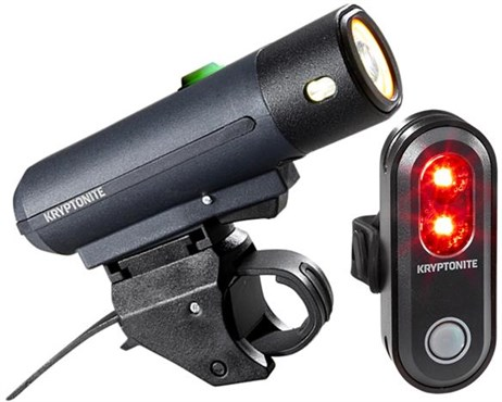 Kryptonite Street F-450 & Avenue R-45 Medium USB Light Set