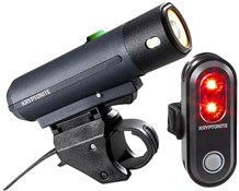 Product image for Kryptonite Street F-450 & Avenue R-45 Medium USB Light Set