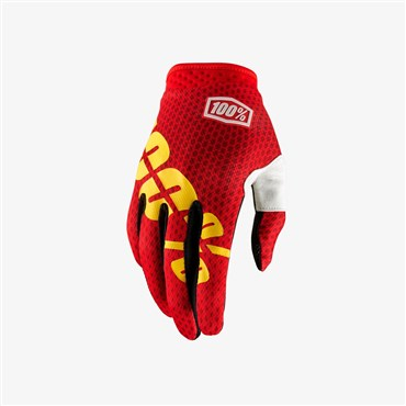 100% iTrack Long Finger Cycling Gloves SS18