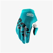 Product image for 100% iTrack Youth Long Finger Cycling Gloves AW17