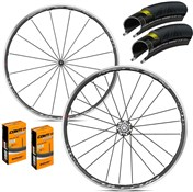 Product image for Fulcrum Racing Zero Wheelset with Grand Prix 4000 S II Tyres & Tubes