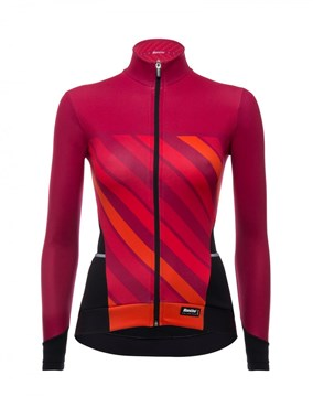 Santini Coral 2 Winter Long Sleeve Womens Jersey AW17