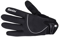 Product image for Santini Studio Airtech Thermal Long Finger Gloves AW17
