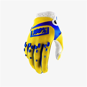 100% Airmatic Long Finger Cycling Gloves AW17