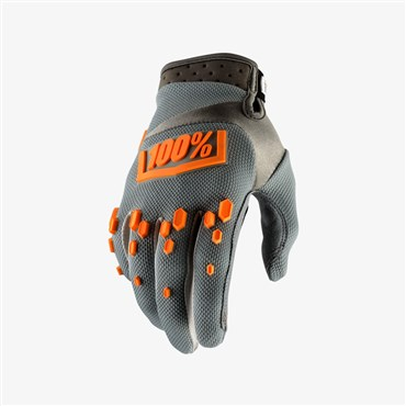 100% Airmatic Long Finger Cycling Gloves SS18