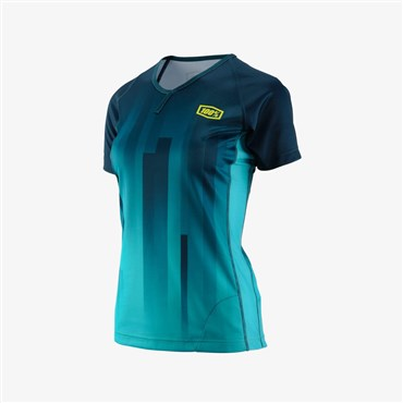 100% Airmatic Womens Short Sleeve Jersey AW17