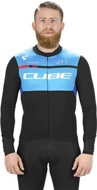 Cube Teamline Long Sleeve Jersey AW17