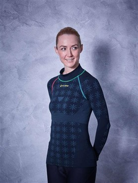 Cube Race Be Warm Womens Long Sleeve Baselayer AW17