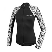 Product image for RH+ Camou Womens Thermo Long Sleeve Cycling Jersey AW17