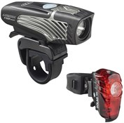 Product image for NiteRider Lumina 1100 Boost / Solas 100 USB Rechargeable Lightset
