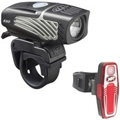 Product image for NiteRider Lumina Micro 550 / Sabre 80 USB Rechargeable Lightset