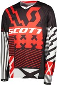 Scott 450 Patchwork Long Sleeve Jersey SS18