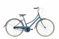 Bobbin Brownie 3 Speed 700c Womens 2018 - Hybrid Classic Bike