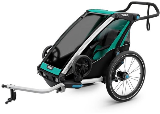 Image of Thule Chariot Lite 1 Single Child Trailer With Strolling Kit