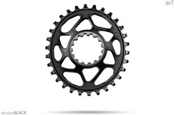 Product image for absoluteBLACK OVAL  E13  Direct Mount  chainring N/W