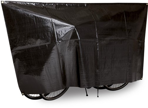 Image of VK Duo Waterproof 2-Bike Bicycle Cover Incl. 5m Cord
