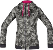 Product image for Gore C5 Windstopper Trail Camo Hooded Womens Jacket SS18