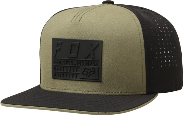 Fox Clothing Redplate Tech Snapback Hat SS18