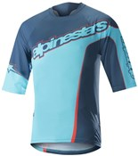 Product image for Alpinestars Crest 3/4 Sleeve Jersey SS18