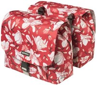Product image for Basil Magnolia Double Pannier Bag
