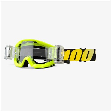 100% Strata Mud Youth with Roll-Off System MTB Goggles