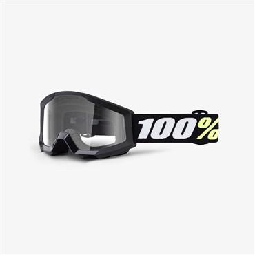 100% Strata Mini Anti-Fog Clear Lens MTB Goggles