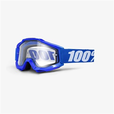 100% Accuri Enduro Clear Vented Dual MTB Goggles