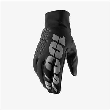100% Hydromatic Brisker Long Finger Cycling Gloves SS18