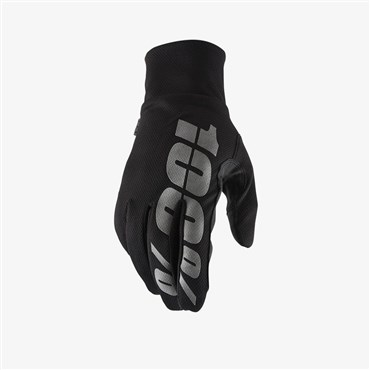 100% Hydromatic Waterproof Long Finger Cycling Gloves SS18