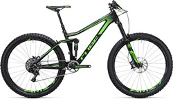 "Cube Stereo 140 C:62 SL 27.5"" - Nearly New - 20"" - 2017 Mountain Bike"