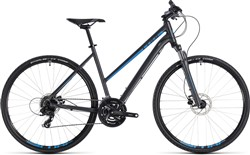 Cube Nature Trapeze Womens - Nearly New - 50cm - 2018 Hybrid Bike