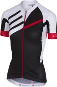 Castelli Aero Race FZ Short Sleeve Womens Jersey