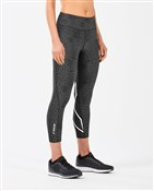 Product image for 2XU Mid-Rise Print Womens Tight w Storage
