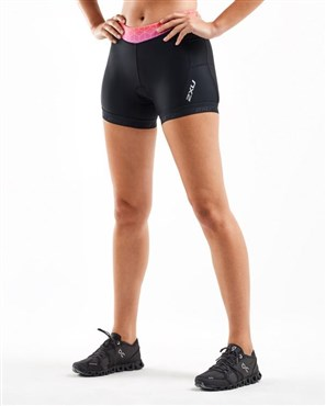 "2XU Active Womens 4.5"" Tri Shorts"