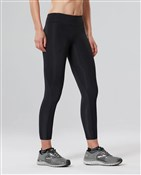 Product image for 2XU Mid-Rise Womens Compression 7/8 Tights