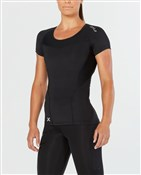 2XU Womens Compression Short Sleeve Top