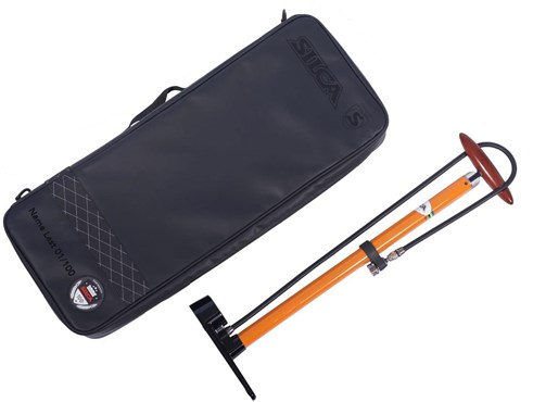 Silca Pista Floor Pump and Travel Bag