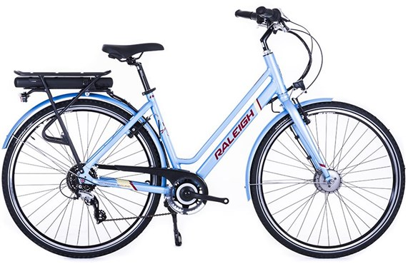 Raleigh Array E-Motion Low Step 700c Womens - Nearly New - M - 2018 Electric Bike