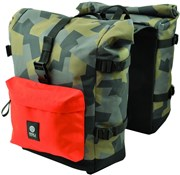Agu Urban Trend H2O Roll-Top Waterproof Double Pannier Bags