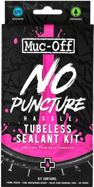 Muc-Off Muc-Off No Puncture Hassle Tubeless Sealant Kit